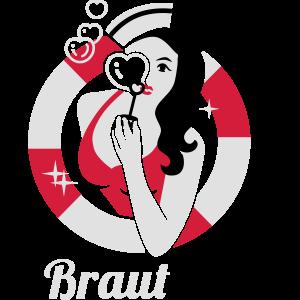 Braut - Crew - Team - JGA - Hochzeit - Küsten - 3C
