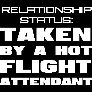 Lustiges Flugbegleiter-Freund-Freundin-Geschenk