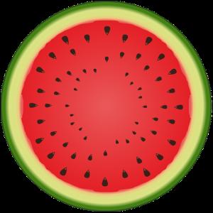 Wassermelone, Frucht, Bowler, Geschnk