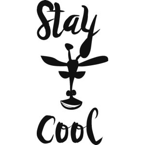 Bleib cool als lustige Geschenkidee