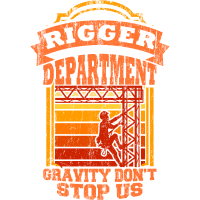 Rigger Stagecrew Crew Rigging Event Geschenk