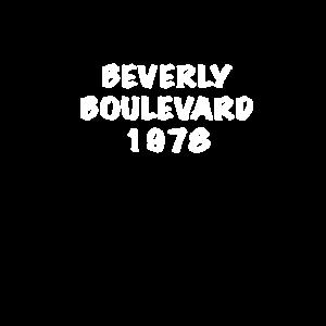 Beverly Boulevard 1978 Design