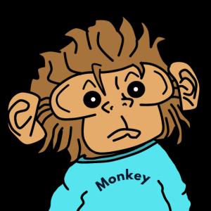 Affe Monkey Affengesicht Cartoon