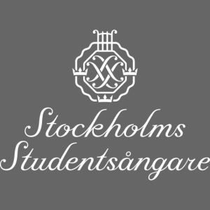 SSSF logo / emblem + namn (vit)