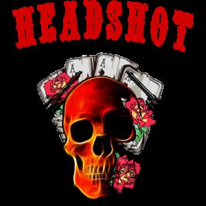 Totenkopf Skull Retro Design