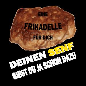 Frikadelle Senf Klugscheißer Shirt Geschenk