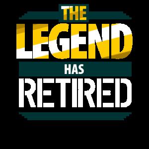 Die Legende ist in Rente