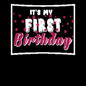 1. Geburtstag 2018 Jahrgang 1 Jahr Geschenk Bday