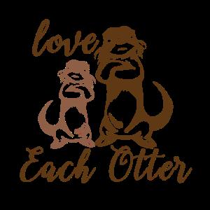Love each otter