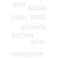 Black Cat With Note Music T Shirt