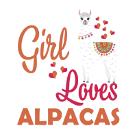 Just A Girl Who Loves Alpacas T Shirt