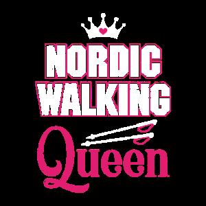 Nordic Walking Frau