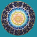 """SoulArt Mandala """"Sternenkind"""" - Poster"""