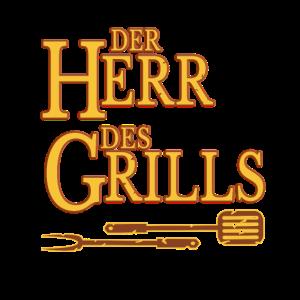 Der Herr des Grills Grillen BBQ Maenner