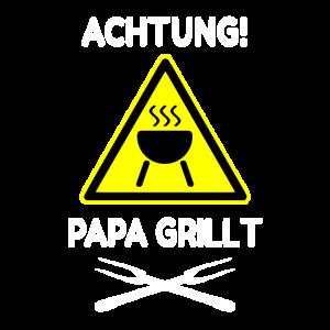 Grill grillen Papa Grillt Geschenk Vatertag
