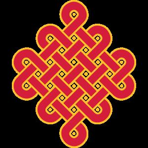 Endlos Knoten, Tibet, Unendlich, Buddhismus, Glück