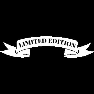 Limited Edition Banner Spruch Limitiert