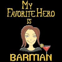 Mein ♥ Lieblingsheld ♥ ist BARMAN