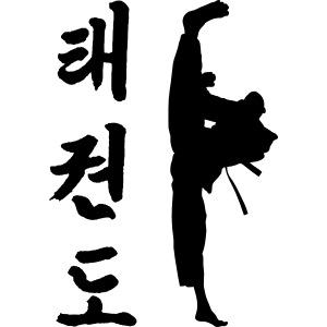 Tollyo Chagi Schriftzeichen eps
