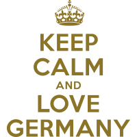 keep calm and love germany
