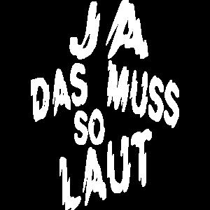 Fun Shirt Laute Musik