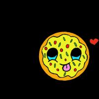 Pizza kawaii
