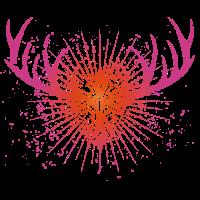 holy deer pink