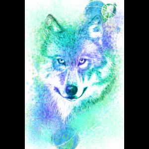 Wolf bunt