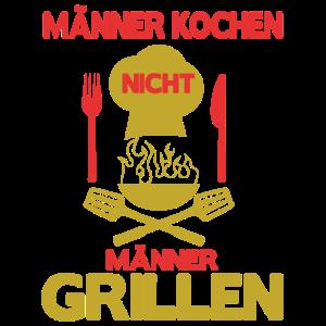 Grill Shirt • Männer Grillen • Grillkönig Geschenk