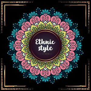 vintage ethnic 85 F
