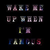 Weck mich auf, wenn ich Fampus bin