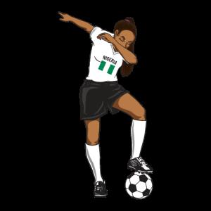 Die Fußball-Nationalmannschaft von Nigeria Womens Funny Dabbing