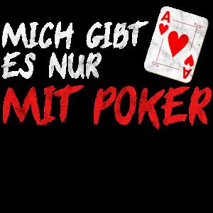 Poker Shirt Pokern Pokerface Ass Casino Geschenk