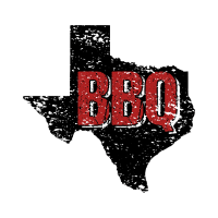 Texas BBQ Barbeque State Distressed