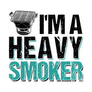 I'm A Heavy Smoker BBQ Barbeque