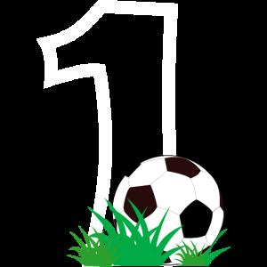 Fussballspieler Nachwuchs Erster Geburtstag Jahr
