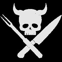 Grillsaison | Grill Skull | BBQ