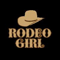 Rodeo Wilder Westen Mädchen
