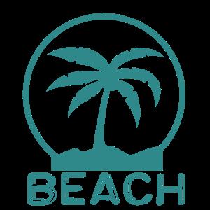 Beach with Palm trees - Strand mit Palmen