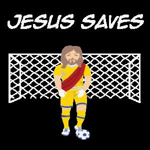 Lustiges Jesus Fußball Sprüche Christen Geschenk
