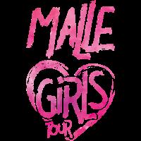 malle girls tour heart