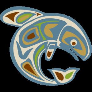 Native American Totem ORCA Killer Whale 3