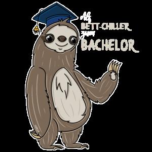 Bachelor T-Shirt Abschluss Geschenk