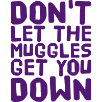 Don't let the Muggles get you down, eushirt.com