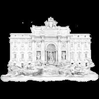 Trevi-Brunnen/Rom