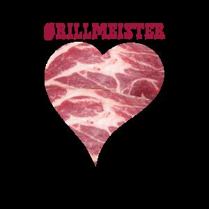 Grillmeister mit Herz
