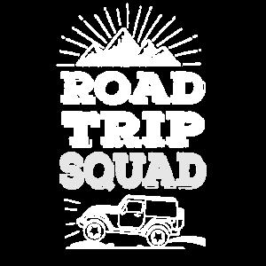 Roadtrip Squad - cooles Road Trip Outfit, Reisende