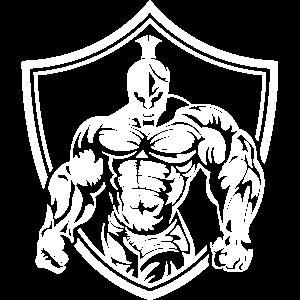 spartaner wappen muskeln