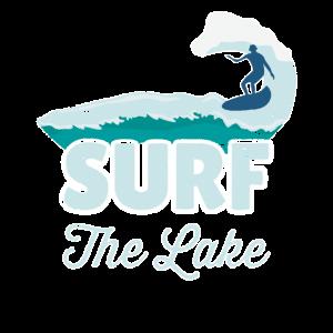 Surfen See Wasser Welle