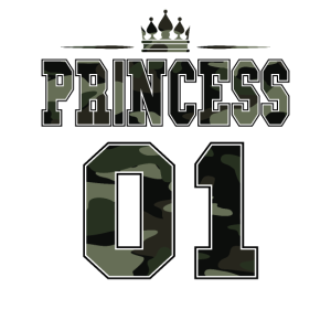 Princess 01 Partnershirt Partnerlook Camouflage